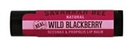 Savannah Bee - Natural Beeswax & Propolis Lip Balm Wild Blackberry - 0.15 oz.