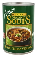 Amy's - Organic Hearty Soup Rustic Italian Vegetable - 14 oz.