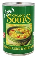Amy's - Organic Soup Summer Corn & Vegetable - 14.5 oz.