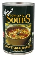 Amy's - Organic Soup Vegetable Barley - 14.1 oz.