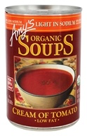 Amy's - Organic Low Sodium Soup Cream of Tomato - 14.5 oz.
