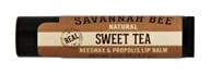 Savannah Bee - Natural Beeswax & Propolis Lip Balm Sweet Tea - 0.15 oz.