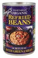 Amy's - Organic Refried Beans with Green Chiles - 15.4 oz.