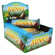 Amy's - Organic Andy Dandy's Candy Sunny Bars Box Coconut & Roasted Almonds Covered in Dark Chocolate - 12 Bars