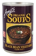 Amy's - Organic Soup Black Bean Vegetable - 14.5 oz.