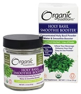 Organic Traditions - Smoothie Booster Holy Basil - 1.15 oz.