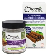 Organic Traditions - Smoothie Booster Cinnamon - 1.15 oz.