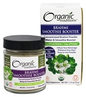 Organic Traditions - Smoothie Booster Brahmi - 1.15 oz.