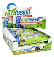 SAN Nutrition - RawFusion Whole Foods Protein Bar Chocolate Coconut Chunk - 12 Bars
