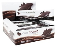 Power Crunch - Protein Energy Choklat Bars Box Dark Chocolate - 12 Bars