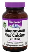 Bluebonnet Nutrition - Magnesium Plus Calcium 2:1 Ratio - 90 Vegetable Capsule(s)