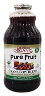 Lakewood - Organic Pure Fruit Cranberry Juice - 32 oz.