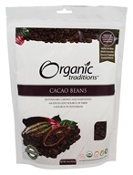 Organic Traditions - Cacao Beans - 16 oz.