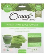 Organic Traditions - Wheat Grass Juice Powder - 5.3 oz.