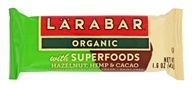 Larabar - Organic Nutritional Bar with Superfoods Hazelnut, Hemp and Cacao - 1.6 oz.