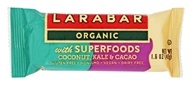 Larabar - Organic Nutritional Bar with Superfoods Coconut, Kale and Cacao - 1.6 oz.