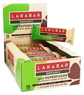 Larabar - Organic Nutritional Bars with Superfoods Hazelnut, Hemp and Cacao - 15 Bars