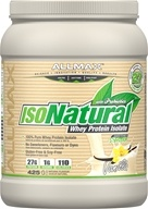 AllMax Nutrition - IsoNatural Whey Protein Isolate Vanilla - 15 oz.