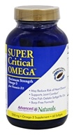 Advanced Naturals - Super Critical Omega Maximum Strength Omega-3 - 60 Softgels