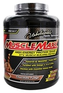 MuscleMaxx - High-Energy Protein Shake Chocolate Fudge - 5 lbs.