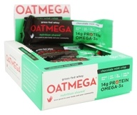 Oatmega - Grass-Fed Whey Bars Box Chocolate Mint Crisp - 12 Bars