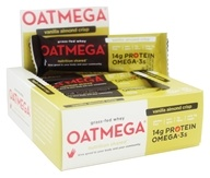 Boundless Nutrition - Oatmega Grass-Fed Whey Bars Box Vanilla Almond Crisp - 12 Bars