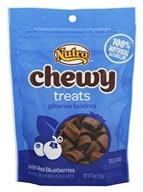 Nutro - Chewy Treats for Dogs with Real Blueberries - 4 oz.