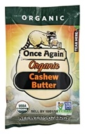 Once Again - Organic Cashew Butter - 1.15 oz.