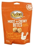 Nutro - Moist-n-Chewy Bites for Dogs Roasted Chicken - 6.5 oz.