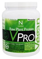 NutraKey - V Pro Raw Plant Protein Mocaccino - 1 lb.