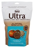 Nutro - Ultra All Natural Dog Biscuits Healthy Digestion Blend with Oatmeal & Pumpkin - 16 oz.