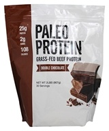 Paleo Protein Grass-Fed Beef Protein Double Chocolate - 2 lbs.