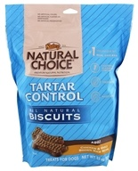 Nutro - Natural Choice All Natural Adult Dog Biscuits Tartar Control Chicken & Whole Brown Rice Recipe - 32 oz.