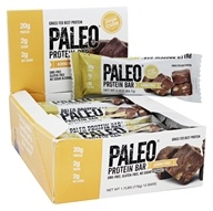 Julian Bakery - Paleo Protein Bar Almond Fudge - 12 Bars