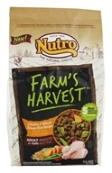 Nutro - Farm's Harvest Adult Dog Food Chicken & Whole Brown Rice Recipe - 4 lbs.