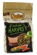 Nutro - Farm's Harvest Adult Dog Food Salmon & Whole Brown Rice Recipe - 4 lbs.