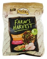 Nutro - Farm's Harvest Small Breed Adult Dog Food Chicken & Whole Brown Rice Recipe - 12 lbs.