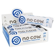 D's Naturals - No Cow Bar Blueberry Cobbler - 12 Bars