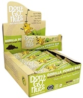 Don't Go Nuts - Organic Gorilla Power Bars Box Granola Jungle with Chocolate Chips - 12 Bars