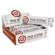 D's Naturals - No Cow Bar Peanut Butter Chocolate Chip - 12 Bars