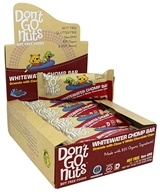 Don't Go Nuts - Organic Whitewater Chomp Bars Box Granola with Class V White Chocolate Chips - 12 Bars