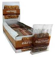 Earnest Eats - Baked Whole Food Bars Box Choco Peanut Butter - 12 Bars
