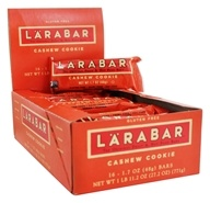 Larabar - Original Fruit & Nut Bars Box Cashew Cookie - 16 Bars
