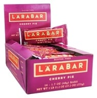 Larabar - Original Fruit & Nut Bars Box Cherry Pie - 16 Bars