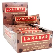 Larabar - Original Fruit & Nut Bars Box Chocolate Chip Brownie - 16 Bars