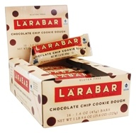 Larabar - Original Fruit & Nut Bars Box Chocolate Chip Cookie Dough - 16 Bars