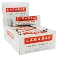Larabar - Original Fruit & Nut Bars Box Coconut Cream Pie - 16 Bars