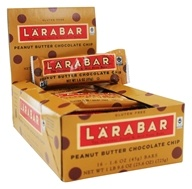 Larabar - Original Fruit & Nut Bars Box Peanut Butter Chocolate Chip - 16 Bars