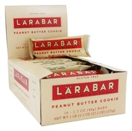 Larabar - Original Fruit & Nut Bars Box Peanut Butter Cookie - 16 Bars