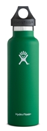 Hydro Flask - Stainless Steel Water Bottle Vacuum Insulated Standard Mouth Forest - 21 oz.